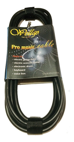 soporte guitarra + afinador joyo + cable 3 metros
