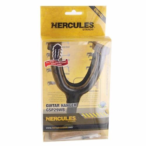 soporte hércules para guitarra eléctrica y bajo