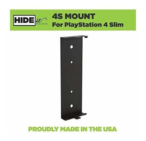soporte hideit 4s - soporte delgado para pared playstation 4