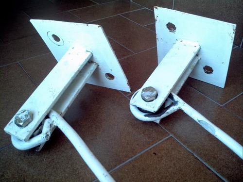 soporte hierro colgante para silla hamaca y otros usos