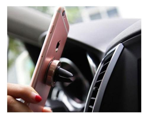 soporte holder magnetico celular rejilla aire automovil iman