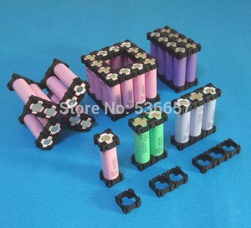 soporte holder para batería de litio tipo 18650 x 20 piesas