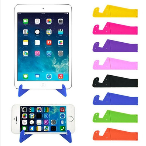 soporte holder para celular smartphone tablet plegable