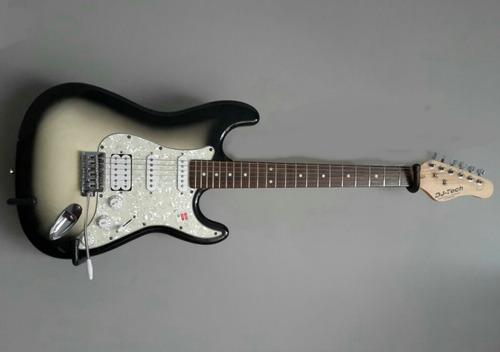 soporte horizontal de pared para guitarras.