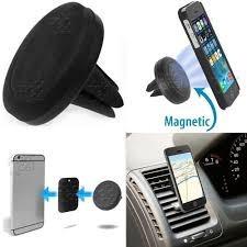 soporte imantado de salida de aire para autos gira 360