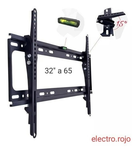 soporte inclinable led lcd smart 32 38 40 42 43 49 50 60 65