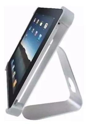 soporte ipad aluminio de mesa escritorio vision elite pad-x