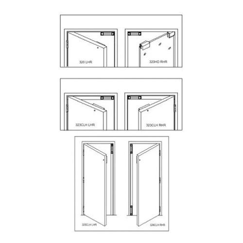 soporte l herraje cerradura electrica 280 kg acceso puerta
