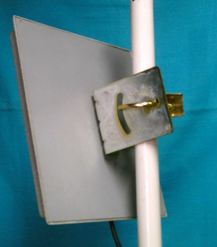 soporte  l  para  caja estanco con regulacion -inclinacion
