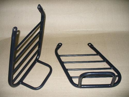 soporte lateral alforjas c/base bajaj 200 avenger