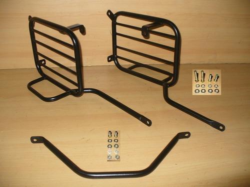 soporte lateral alforjas c/base honda xr 190 l
