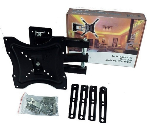 soporte lcd led con brazo de 14 a 55  hasta 50kg 180 grados