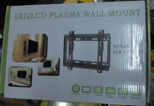 soporte lcd led plasma de 14  a 32  hasta 25kg