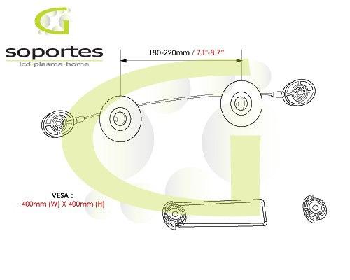 soporte led especial imp. excelente!! para todas las marcas!