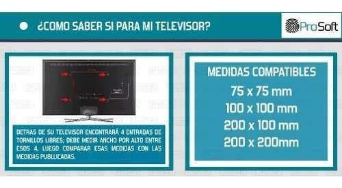 soporte led lcd tv fijo extra chato 32 39 40 42 oferta