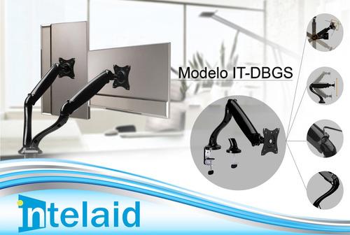 soporte led monitor tv lcd intelaid it-dbgs 13 a 27 6kg