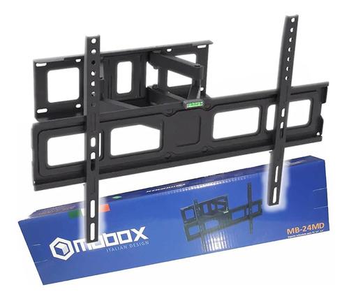 soporte led tv smart acero reforzado h/65  móvil 4 brazos