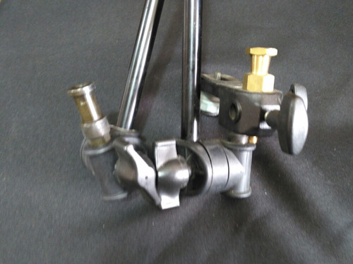 soporte luces cámara micrófono manfrotto tierraventura