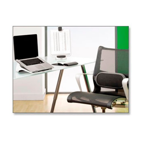 Soporte lumbar i spire fellowes para silla oficina y hogar for Soporte lumbar silla oficina