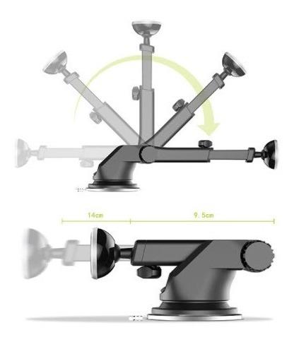 soporte magnético celular brazo extensible baseus