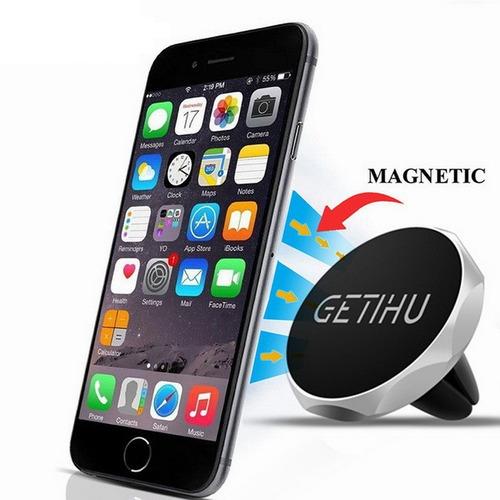soporte magnético para carro celular (imán) getihu