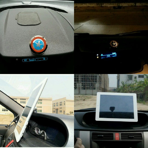 soporte magnético para carro tablet gps celular ipad samsung
