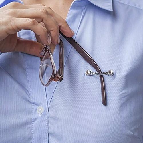 soporte magnético para gafas con cristales de swarovski