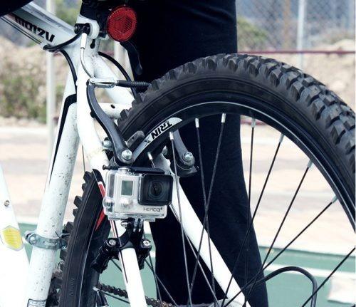 soporte manubrio bicicleta moto accesorios camara gopro eken