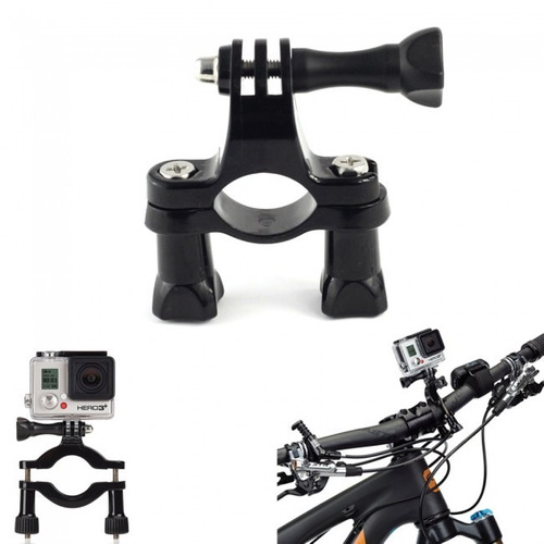 soporte manubrio bicicleta moto sjcam gopro  generico tubo