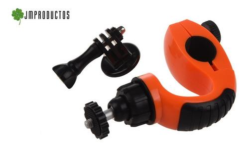 soporte manubrios moto o bici gopro hero 7 6 5 4 3+ 3 2 sjcm