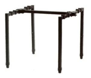 soporte mesa para mixer parquer regulable mxs01