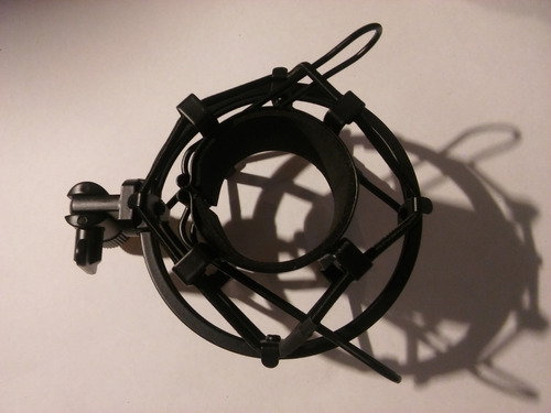 soporte microfono araña suspension moon mas01 shock mount