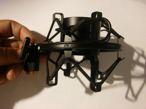 soporte microfono estudio araña suspension moon mas01 mt
