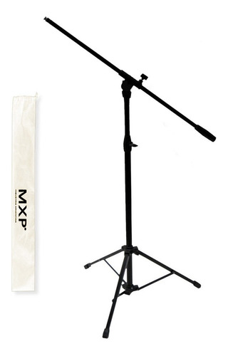 soporte micrófono jirafa mxp boom reforzado + funda - cuotas