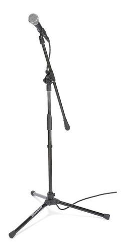 soporte microfono jirafa samson mk10 con pipeta - cuotas