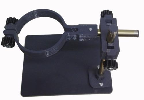 soporte microscopio ajuste de altura manual 3d.obis