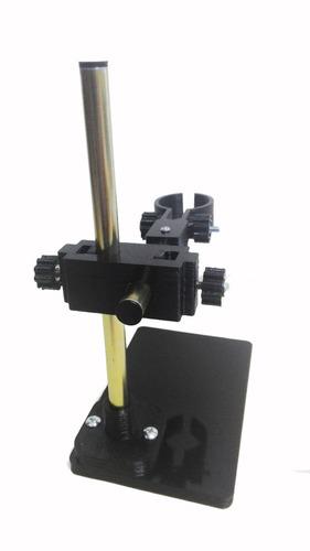 soporte microscopio ajuste vertical manual 3d.obis