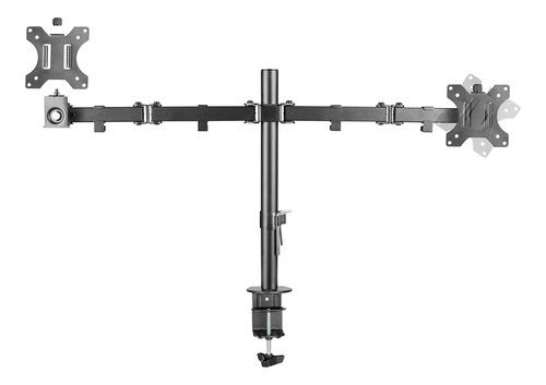 soporte monitor escritorio doble articulado 13 a 32 pulgadas