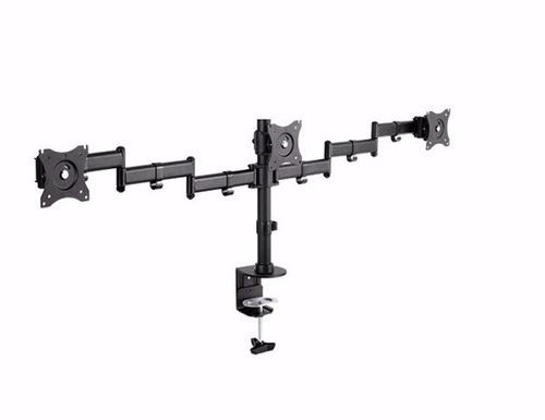soporte monitor escritorio triple 13/27 vesa 100x100 it-db3e