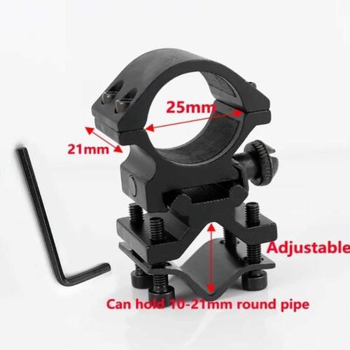 soporte montaje para linternas cañon/ picatiny anillo 25,4mm