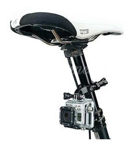 soporte moto bicicleta gopro hd hero 2 3 3+ 4 5 19 a 25mm