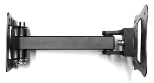 soporte móvil con giro para tv de 13 a 24 pulgadas