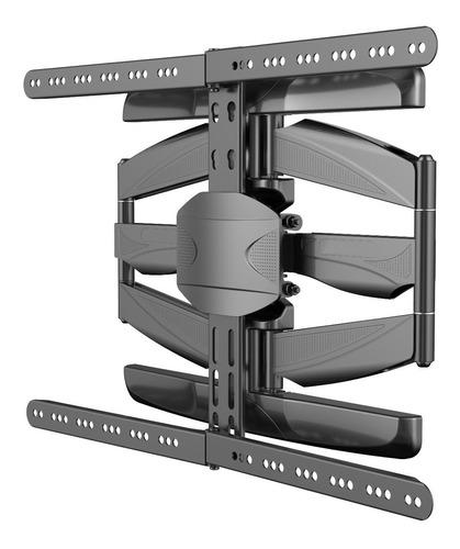 soporte móvil para smart tv curvo de 32  a 65  hstv26 tgw