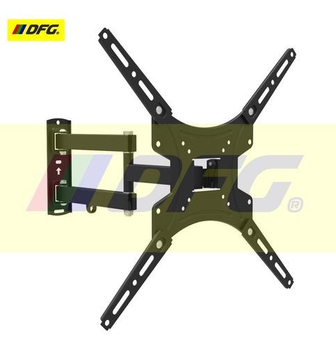 soporte móvil tv led lcd 49 pulgadas doble brazo