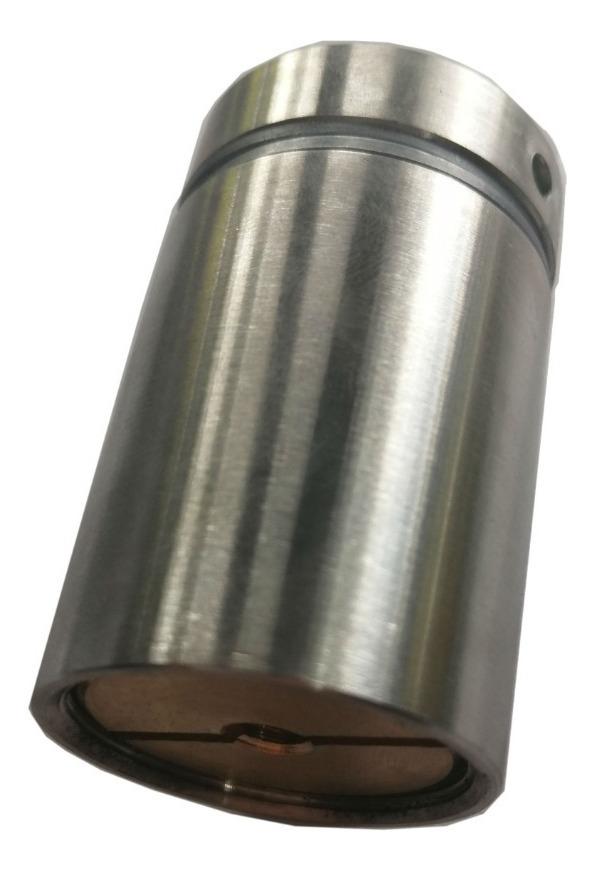 Soporte Muro Vidrio Separador Alma De Bronce 32mmx50mm 4pzas