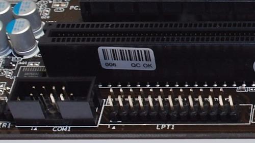 soporte o bracket - conector de puerto paralelo lpt1