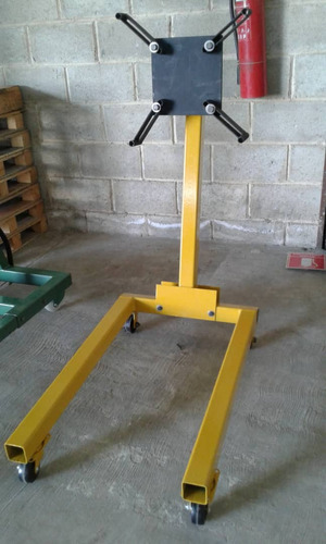 soporte o burro giratorio para armar motores
