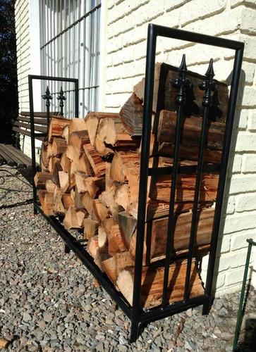 soporte o rack reforzado para guardar leña. fabricantes!