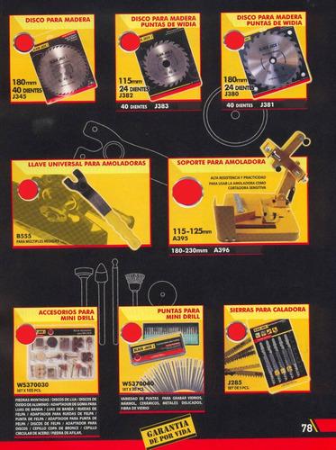 soporte p/amoladoras 180-230mm black jack a396 *