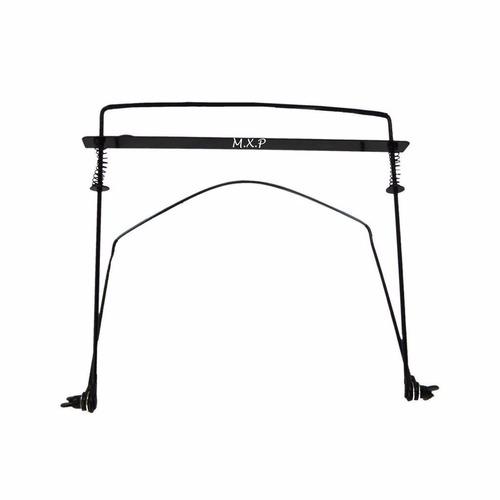 soporte para armonica metalico regulable liviano garantia